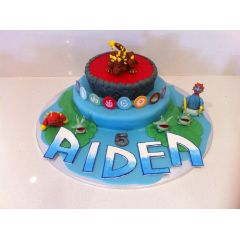 Birthday Cake - Skylanders Two Tiered