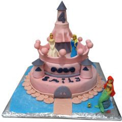Birthday Cake - Princess Castle