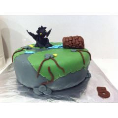 Birthday Cake - Toothless